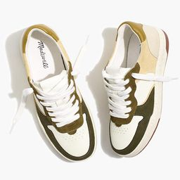 Court Sneakers in Colorblock Leather and Suede | Madewell