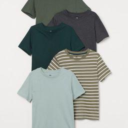 5-pack T-shirts | H&M (US)