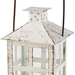 Kate Aspen White candle lantern, 6 Inch Decorative | Amazon (US)