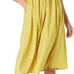 Amazon Brand - Goodthreads Women's Georgette Smock-Back Cami Midi Dress   Amazon (US)