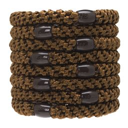 L. Erickson Grab & Go Ponytail Holders, Mocha, Set of Eight - Exceptionally Secure with Gentle Ho...   Amazon (US)