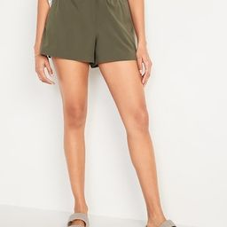 High-Waisted StretchTech Hybrid Shorts for Women -- 4-inch inseam   Old Navy (US)