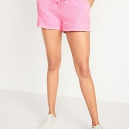 Mid-Rise Vintage Sweat Shorts for Women -- 3-inch inseam   Old Navy (US)