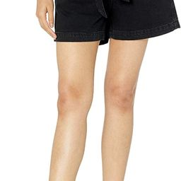 The Drop Women's Brett Paperbag High-Waist Tie-Front Denim Short   Amazon (US)