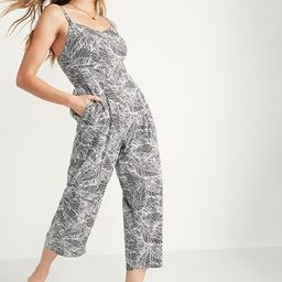 Printed Cami Jumpsuit for Women   Old Navy (US)