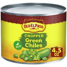 Old El Paso Chopped Green Chiles, 4.5 oz   Walmart (US)