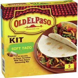 Old El Paso Soft Taco Dinner Kit, 12.5 oz   Walmart (US)