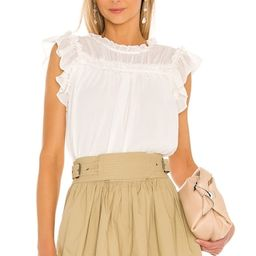1. STATE Babydoll Blouse in Soft Ecru from Revolve.com | Revolve Clothing (Global)