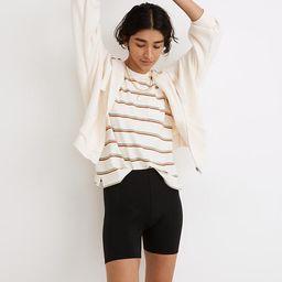 "MWL Knit High-Rise 5"" Biker Shorts | Madewell"