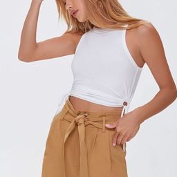 Ruched Drawstring Tank Top | Forever 21 (US)