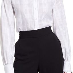 Ruffle Button-Up Blouse | Nordstrom