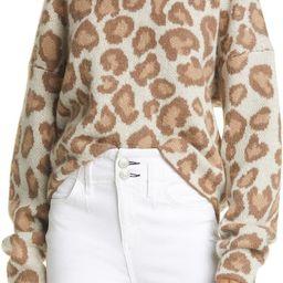 Cheetah Crewneck Sweater   Nordstrom