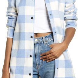 BB Dakota Eldridge Oversize Buffalo Check Shirt Jacket   Nordstrom
