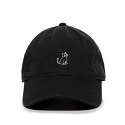 Crying Cat Baseball Cap Embroidered Cotton Adjustable Dad Hat   Etsy (US)