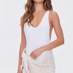 Crochet Swim Sarong Cover-Up | Forever 21 (US)