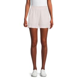 Time and Tru Women's Linen Shorts | Walmart (US)