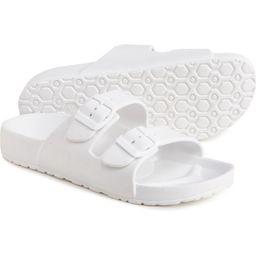 Rockin Huntington Buckle Slide Sandals (For Women)   Sierra