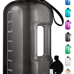 1 Gallon Water Bottle With Time Marker - Large Water Bottle Gallon Water Bottle Motivational One ...   Walmart (US)