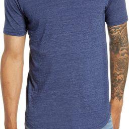 Triblend Scallop V-Neck T-Shirt | Nordstrom