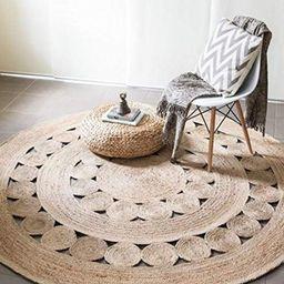 CUSTOM round brown woven jute rug straw floor mats rugs | Etsy | Etsy (AU)