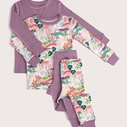 dream big pajamas 2-pack   Pact Apparel