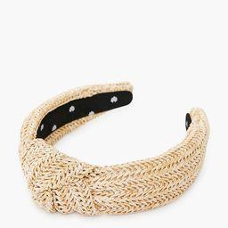Raffia Knotted Headband | Tuckernuck (US)