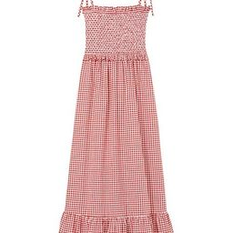 Mini Gingham Smocked Dress | Saks Fifth Avenue
