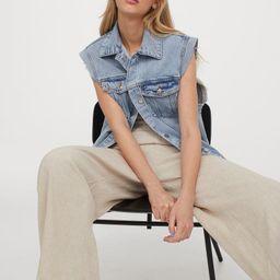 Wide-leg Linen-blend Pants | H&M (US)
