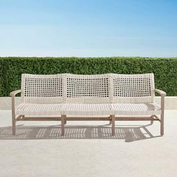 Isola Sofa in Weathered Finish | Frontgate