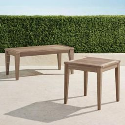 Teak Tables in Weathered Finish | Frontgate