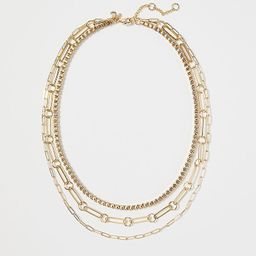 Mixed Chain Necklace | Ann Taylor | Ann Taylor (US)