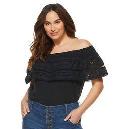 Sofia Jeans by Sofia Vergara Plus Size Cha Cha Top   Walmart (US)