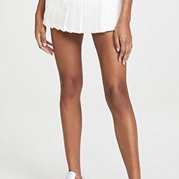 Pleated Hem Tennis Skirt   Shopbop