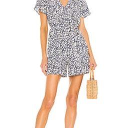 Rails Sophia Romper in Navy Camellia from Revolve.com   Revolve Clothing (Global)
