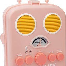 SunnyLife Women's Beach Sounds Speaker & Radio, Pink | Amazon (US)