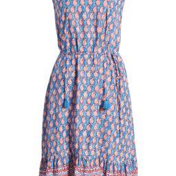 Lou Lou Belted Sleeveless Shift Dress | Nordstrom