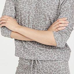 Printed Favorite Raglan Crew Pullover | Shopbop