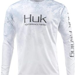 HUK Men's Icon X Camo Long Sleeve Performance Fishing Shirt   Amazon (US)
