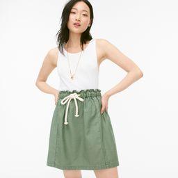 Tie-waist pull-on skirt   J.Crew US