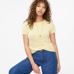Short-sleeve cashmere T-shirt   J.Crew US
