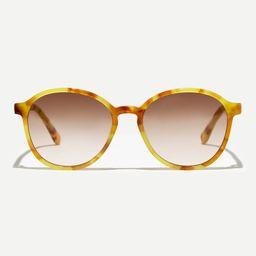 Retro ombré round sunglasses   J.Crew US