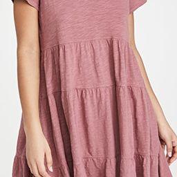 Tiered Trapeze Dress   Shopbop