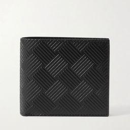 Black Intrecciato-Embossed Leather Billfold Wallet   BOTTEGA VENETA   MR PORTER   Mr Porter (US & CA)