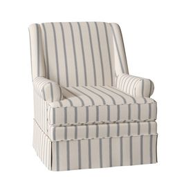 33'' Wide Swivel Down Cushion Armchair | Wayfair North America