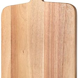 Paten Cutting Board Wood, Acacia Serving Board,Wooden Kitchen Chopping Board for Meat, Cheese, Br... | Amazon (US)