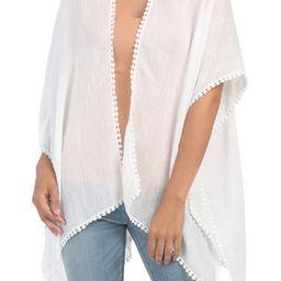Crochet Lace Insert Topper | Ponchos & Wraps | Marshalls | Marshalls