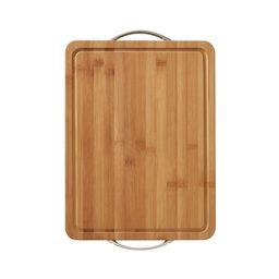 Farberware 12-inch x 16-inch Bamboo Cutting Board with Metal Handles | Walmart (US)
