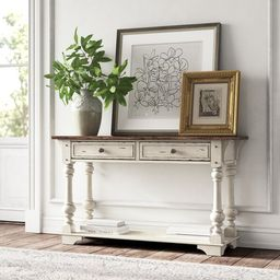 Belle Meade 52'' Solid Wood Console Table | Wayfair North America