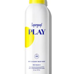 PLAY Antioxidant Body Mist SPF 50 with Vitamin C | Supergoop