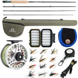 Maxcatch Extreme Fly Fishing Combo Kit 3/5/6/8 Weight, Starter Fly Rod and Reel Outfit, with a Pr... | Amazon (CA)